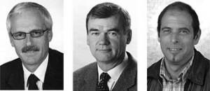 Die Bürgermeister der drei Gemeinden des Passeiertales