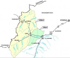Wassereinzugsgebiet